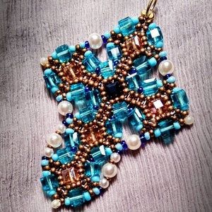 Jewelry - Handmade cross necklace